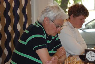 Hans Friberg i Rödeby Open 2007. Foto: Johan Siegeman