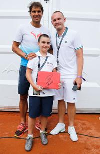 Rafael Nadal, Jonas och Aiden