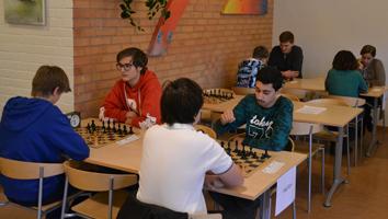 Klass HG bestod enbart av VSK:are. I rött segraren Alfons.